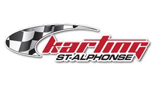 Karting St-Alphonse Logo