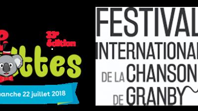 2 grands festivals à voir dans la région! Logo